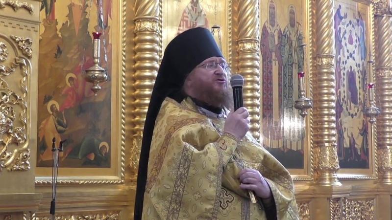 2018.09.30 Иеромонах Филарет, проповедь о крестоношении