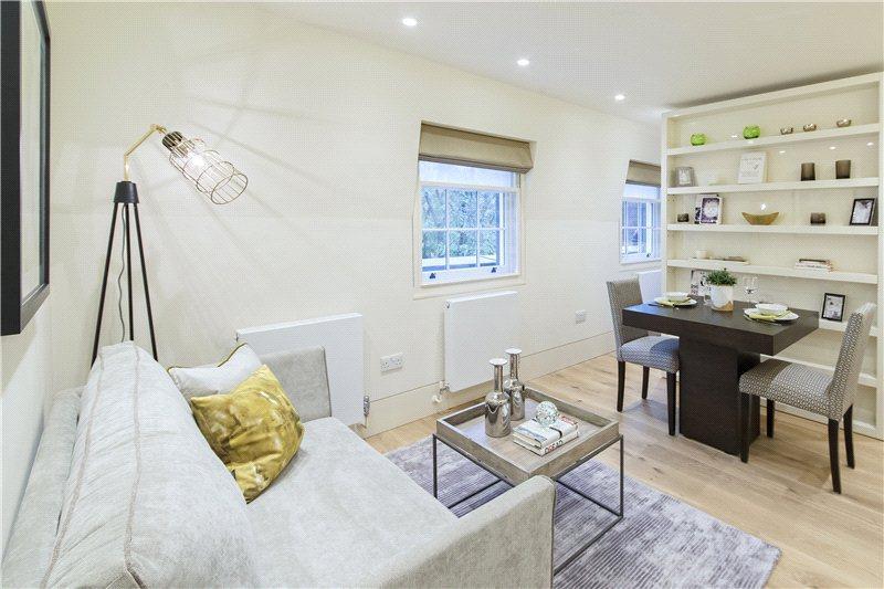 Квартира-студия почти 28 м в Лондоне.