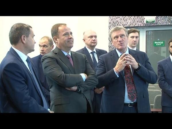 Новому полпреду президента в ПФО организовали космическую встречу
