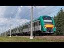 Новый дизель-поезд ДП6-001 на приёмочных испытаниях