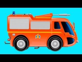 Обзоры мобильных игр - пожарный грузовик - мультик про пажарную машину