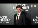 Maze Runner_ The Death Cure LA Premiere - Dylan O'Brien, Thomas Brodie-Sangster,