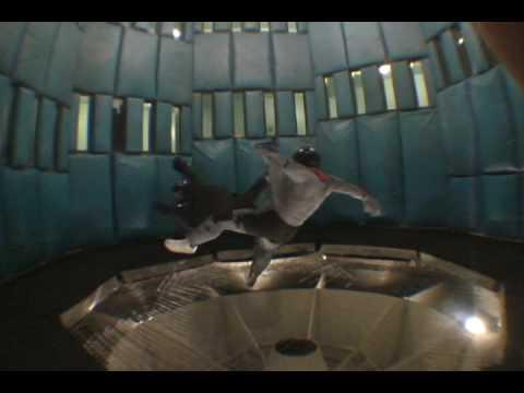 Indoor Skydiving Tricks 3