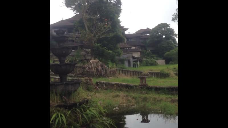 Заброшенный отель острова Бали