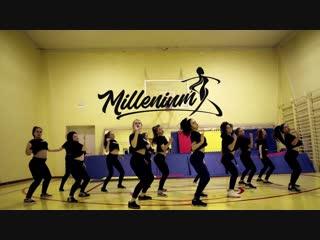 MILLENIUM Киров | Ozuna, Selena Gomez - Taki Taki | IVACHEVA & EVDOKIMOVA choreography | Танцы Dancehall, Jazz-Funk