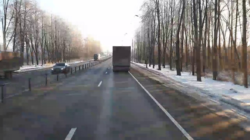 ОПР. 16 Декабря 2018 г/РХ. М10. МО, Головково. Пост ДПС.