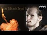#10 Militant Guitars Burning The Telecaster Bare Knuckle Warpig