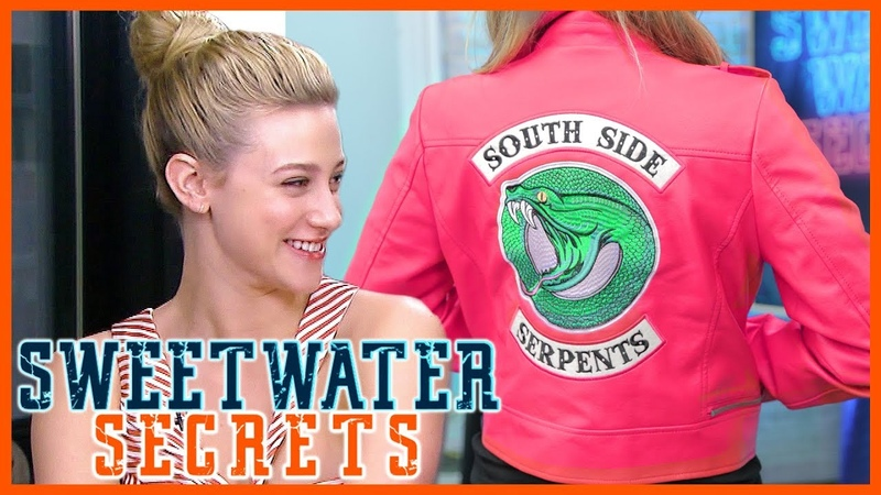 Riverdale Should Betty Get a Pink Serpents Jacket Lili Reinhart Answers!   Sweetwater Secrets