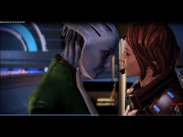 Mass Effect 2 БЕЗУМИЕ 20 [Лиара, голубая роза Иллиума.]