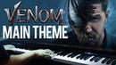 Venom Main Theme - Venom OST (Piano Cover)SHEETSMIDI