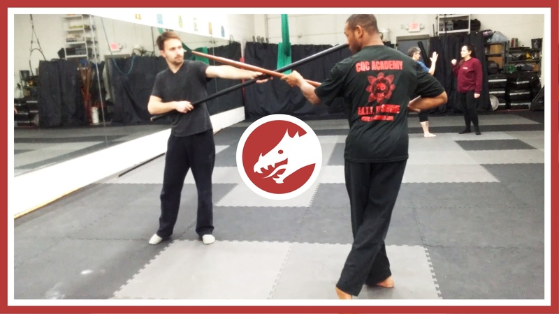 Tips for using a staff in combat (Shown by Taqqee Khabir from CQC Academy)