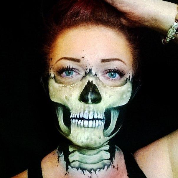 Идеи макияжа на Хэллоуин от Nikki Shelley