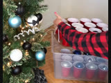 Как эффективнее организовать хранение новогоднего декора