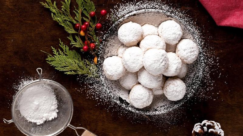 Egyptian Kahk Cookies