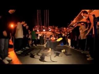 Уличные Танцы в Новороссийске (B-Boy Serj и Студия Танцев Кокетка)