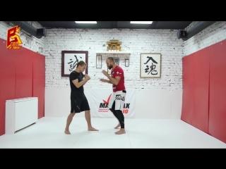 БИЕО.Работа ног - углы атаки и смещение по кругу для ударников. Максим Дедик