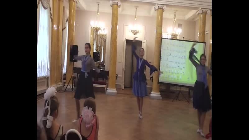 Хореографический коллектив ПИРУЭТ. Отчетный концерт 23.05.2019. Мазурка