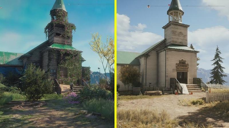 Far Cry New Dawn геймер сравнил локации из новой игры с местами из Far Cry 5