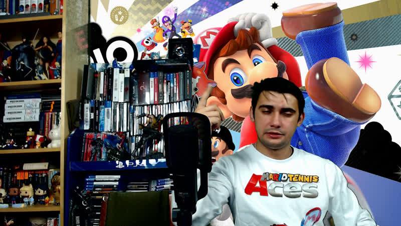 Вечерний Switch-стрим: Super Mario Party, Mario Tennis Aces и Snipperclips plus!