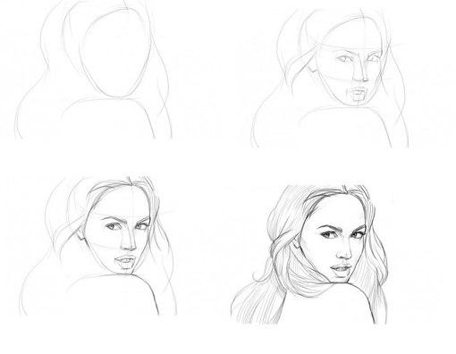 Как рисовать красиво карандашом поэтапно