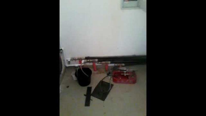 Сантехник пламэр-спб слив воды (теплоносителя) с системы отопления в коттедже