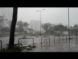 Гонконг, Aberdeen, тайфун