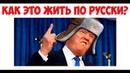 Лютые приколы. Как это жить по Русски? Трамп больше не хочет быть Американцем!