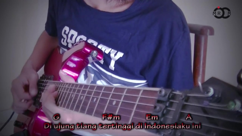 Cokelat - Bendera Versi Metal Guitar Cover