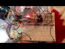 Arduino 8x8 led matrix ping pong game