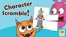 Fun Activities to do with your kids at home - Character Scramble