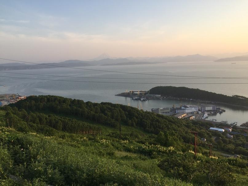 Отчет Камчатка. Вид на бухту и порт