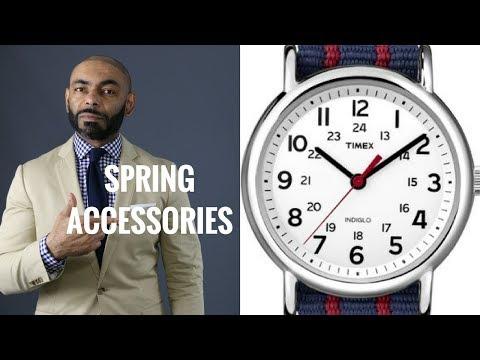 Top 10 Men's Spring 2018 Accessories Under $50/Best Men's Spring Accessories