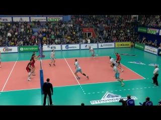 HIGHLIGHTS. Кузбасс — Динамо Москва Суперлига 2017-18. Мужчины