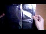 распаковка 7 посылки:светодиодная лента РГБ