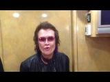 Видеоприветствие Гленна Хьюза! 13 ноября, Санкт Петербург, Аврора