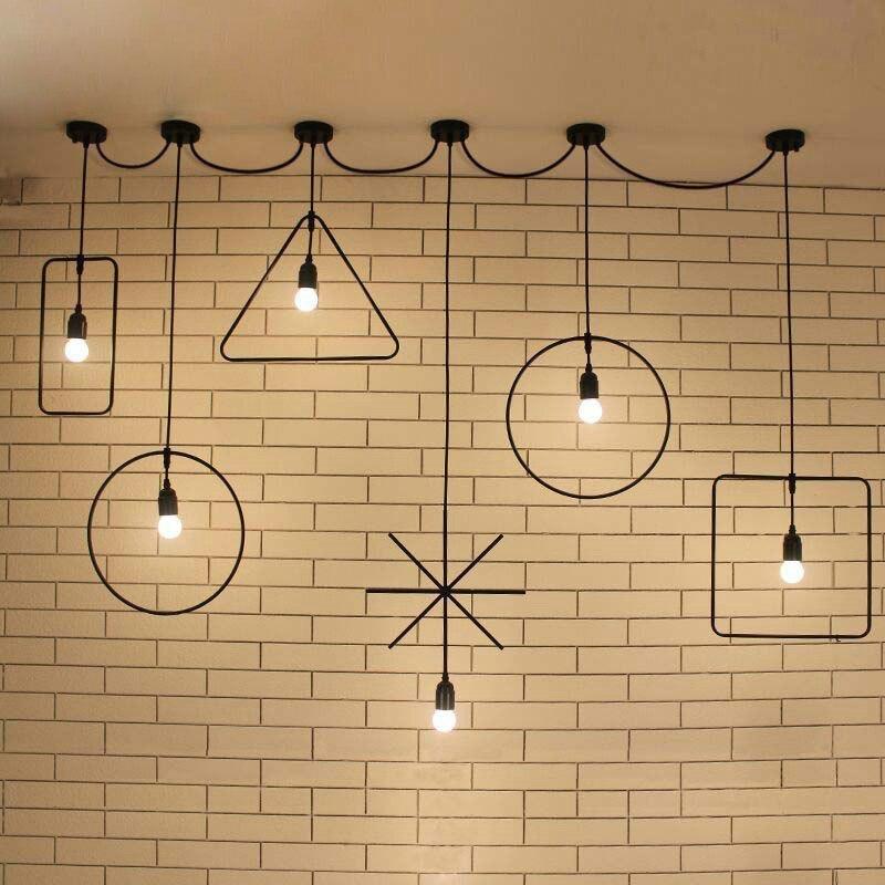 Светильники в стиле лофт -