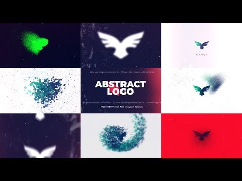 Abstract Logo Animation | After Effects template