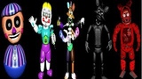 All Dismantled Animatronics &amp Jumpscares Five Nights At Gipsy's 3 EXTRAS