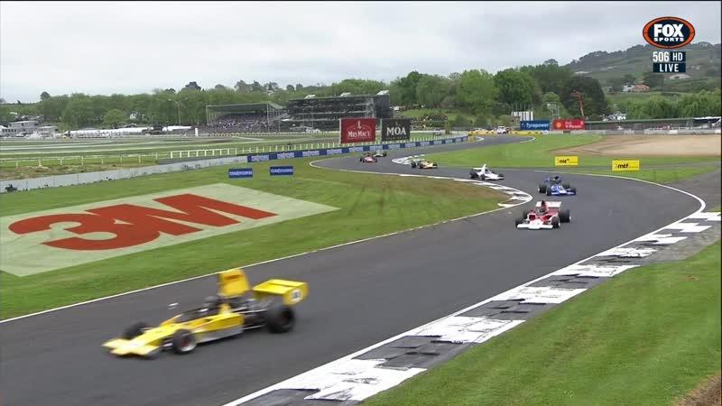NZ Formula 5000 201819. Этап 1 - Окленд. Вторая гонка