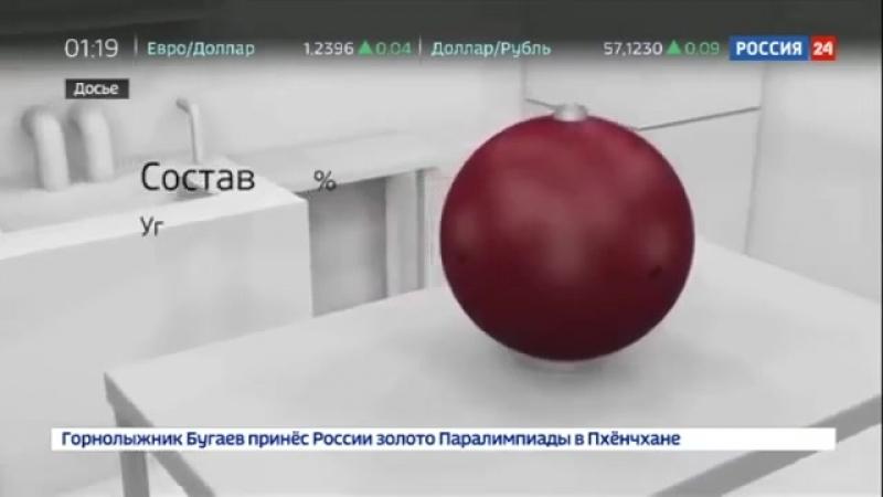 Россия 24 Космические фантомы помогают изучать влияние радиации на человека Россия 24