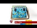 Bolsa de tecido Tiffani. Compre o projeto com moldes medidas e passo a passo no Maria Adna Ateliê