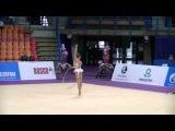 Soldatova Aleksandra (RUS) hoop Gran prix Moscow 2014 Qual