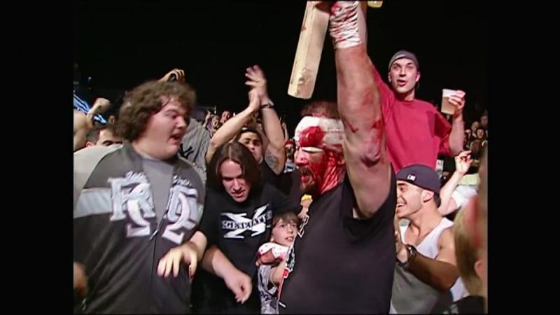 WWE ECW ONE NIGHT STAND 2006 - Edge Lita Mick Foley vs Beulah McGillicutty Terry Funk Tommy Dreamer