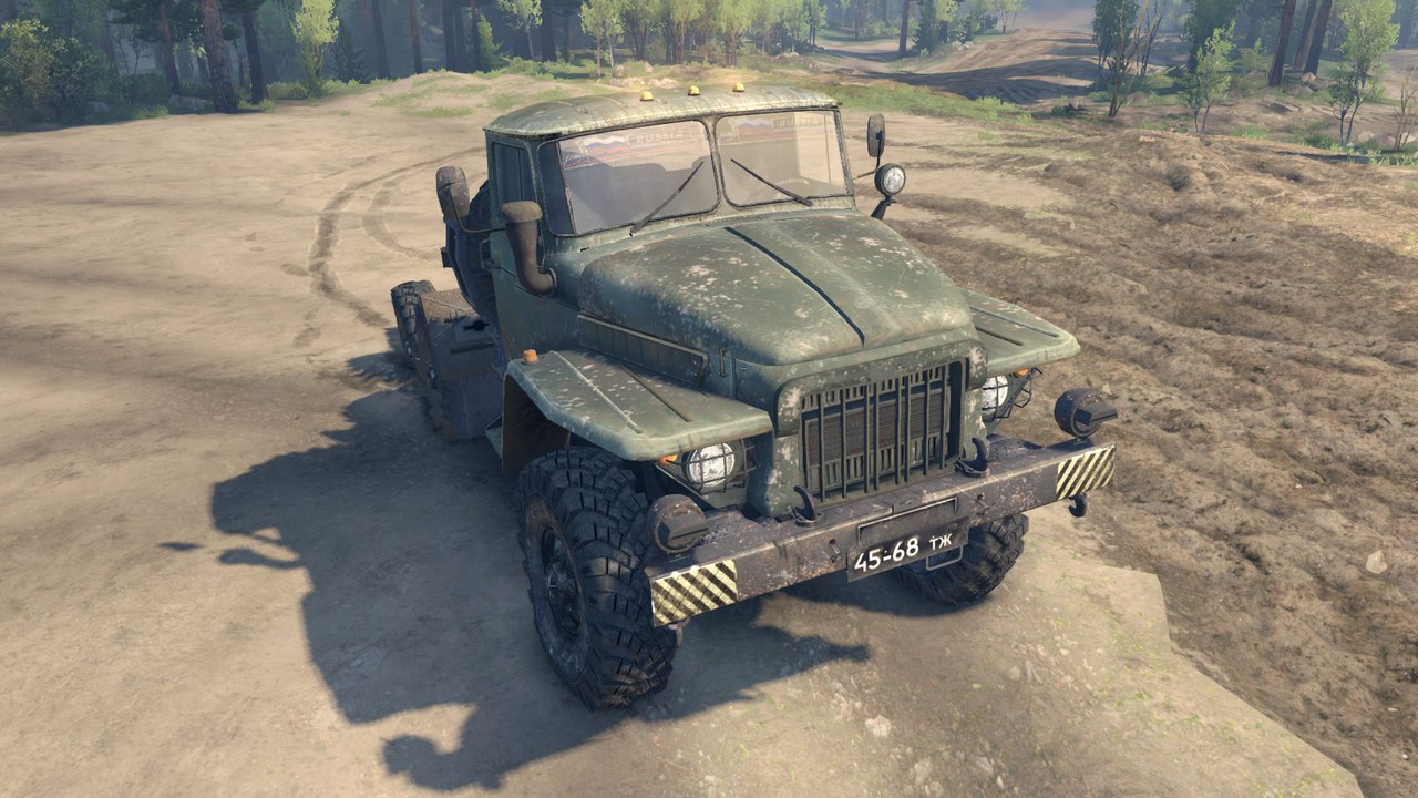 Урал 375 для Spintires - Скриншот 3