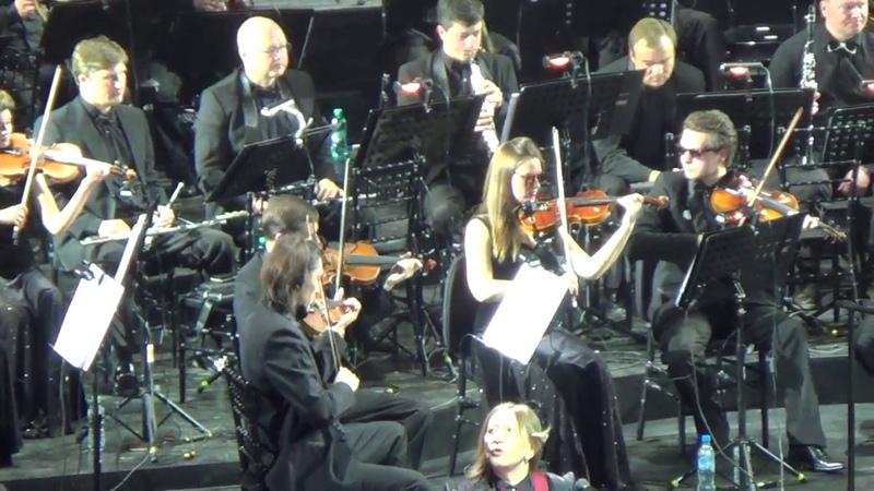 Би-2 с оркестром / 1 отделение - 19 мая 2018, Крокус Сити Холл, Москва