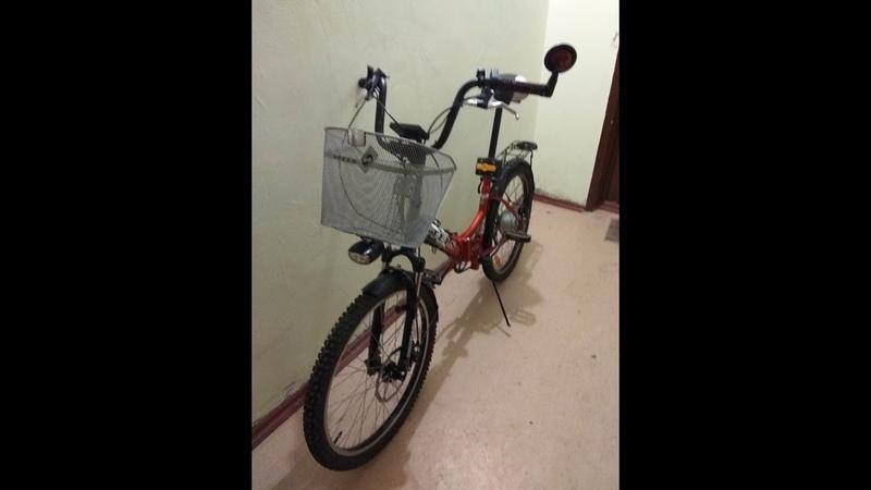 Переделка прогулочного велосипеда в электровелосипед ч1