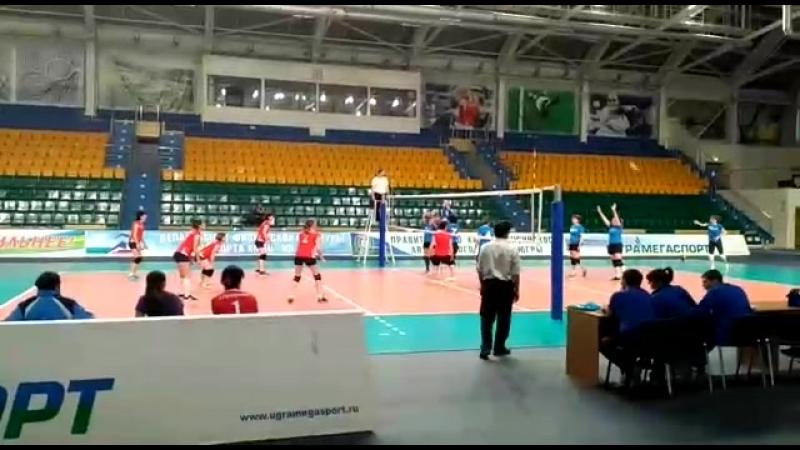 Окружные соревнования по волейболу г. Ханты - Мансийск