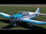 Jodel Robin Remo DR180400 3,68m Spw. mit T.C. Valach 120 4Takt Boxer Erstflug