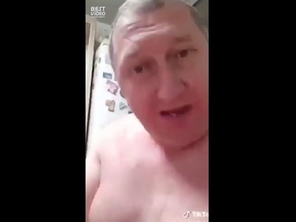 Мужик решил испытать хлороформ ))
