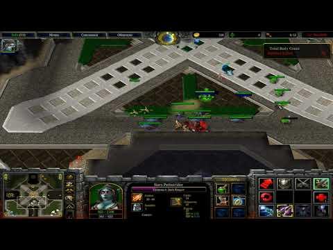 Warcraft 3 Frozen Throne: Footma(Е)n Frenzy I Hero Footies 1vs1vs1vs1
